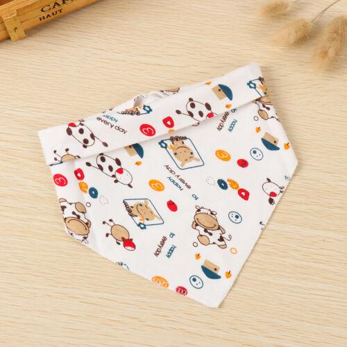Accessories Girls Boys Infant Feeding  Triangle Scarf Saliva Towel Baby Bibs