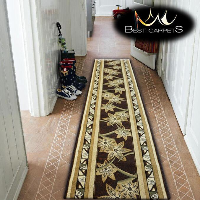 Épais Hall Runner Chaleur Ensemble Kiwi Rectangles Rectangles Rectangles Largeur 80-120cm Extra Long | Apparence Attrayante  51df62
