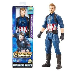Marvel-Avengers-Captain-America-12-034-Action-Figure-infinity-War-Titan-Hero-Series