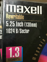 Maxell 1.3 Gb 5.25 Inch Optical Disk Ma132-so 622210 Free Shipping