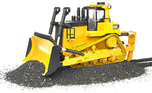 Details about Bruder 02452 - Caterpillar CAT Large track-type tractor Dozer  D10 T2 Scale 1:16