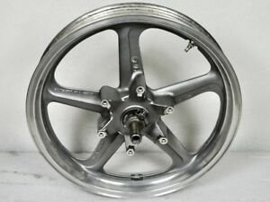 Details about 1991-2004 HONDA NIGHTHAWK 750 CB750 OEM FRONT RIM WHEEL  Silver STRAIGHT NICE NH1