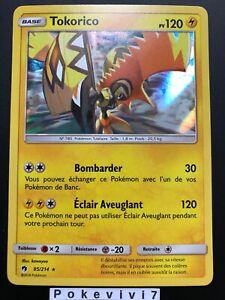 Carte-Pokemon-TOKORICO-85-214-HOLO-Soleil-et-Lune-8-SL8-FR-NEUF