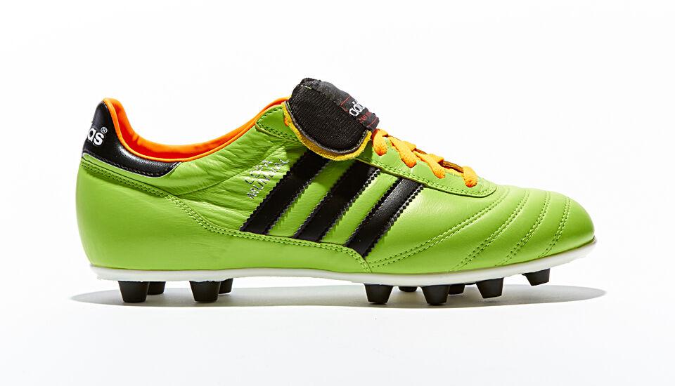 ADIDAS Copa Mundial Samba Coloreeee verde Uomo Made in Germany Scarpe Calcio Nuovo