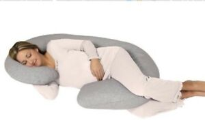 Leachco Snoogle Chic Jersey Total Body Pillow In Heather