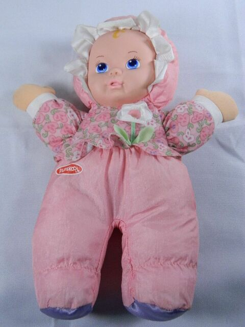Playskool My Very Soft Baby Doll 1993 With Squeaker 11