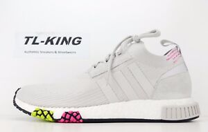 Adidas-Originals-NMD-Racer-PK-Primeknit-Boost-Grey-Pink-CQ2443-Msrp-180-FN