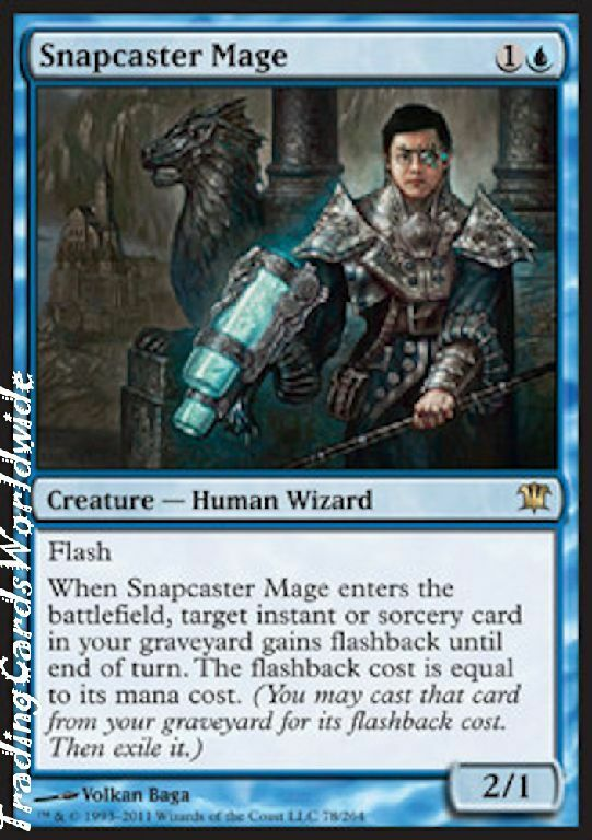 Snapcaster magier     nm     innistrad     engl.    magic the gathering