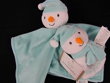 Koala Baby My 1st Christmas Light Blue Lovey Snowman Rattle Brand New With Tags