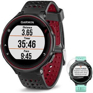 Garmin-Forerunner-235-GPS-Watch-w-Heart-Rate-Monitor-Marsala-Screen-Protector