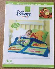 Disney Winnie the Pooh Tigger Piglet Eeyore Cuddle Blanket Pillow Cover Knitting
