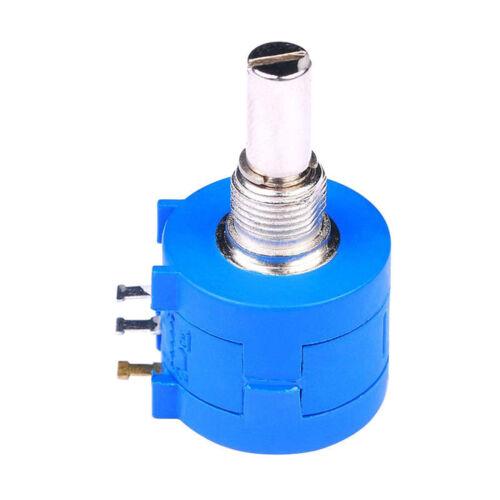 Potentiometer Dreh Multiturn 10k Ohm 2 Watt 6,35 mm linear Poti Widerstand DE