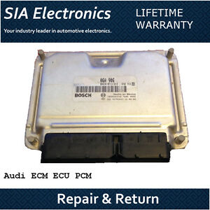 07-16 Audi Q7 ECM ECU PCM Engine Computer Repair /& Return Audi ECM Repair