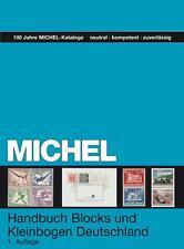 Michel Handbuch-Katalog Blocks und Kleinbogen Deutschland 1. Auflage 2013 NEU