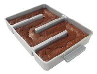Baker's Edge Nonstick Edge Brownie Pan, New, Free Shipping