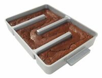 Baker's Edge Nonstick Edge Brownie Pan, New, Free Shipping