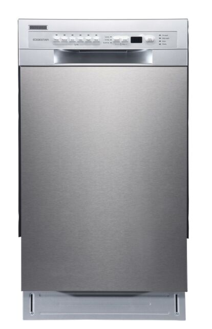 """EdgeStar BIDW1802 18""""W 8 Place Setting Energy Star Rated Built-In - Stainless"""