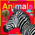 My Giant Fold-out Book of Animals by Roger Priddy (Board book, 2009)