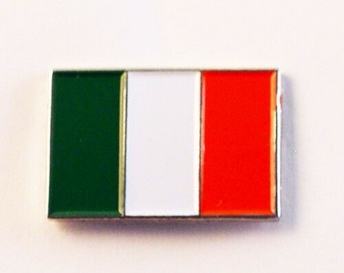 Italian Flag Italy Metal Enamelled Pin Badge Lapel Badge XJKB3-01