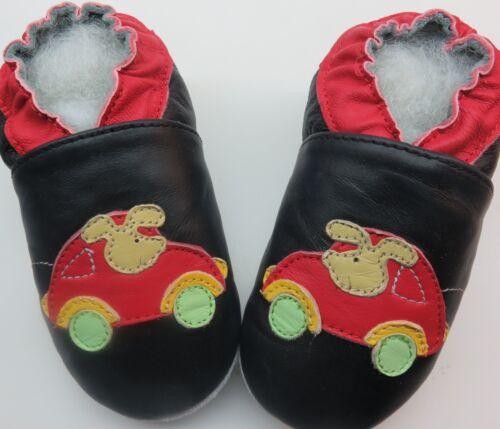 3-4 Toddler US 11-12 Minishoezoo Slippers soft sole Leather baby Boy Girl Shoes