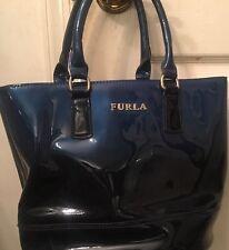 Beautiful Ombré Blue Furla Candy Jelly handbag