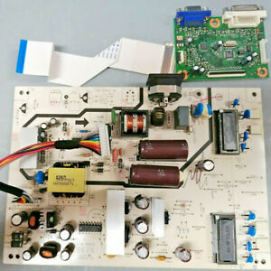ACER P244W Monitor Power Board & Main Unit 5E0LN02003 5E0LN01001 &Screen Ribbon