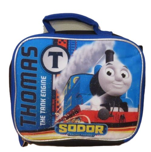 """Thomas the Train Boys/' No 1 Thomas 12/"""" Backpack With Lunch Bag Set"""
