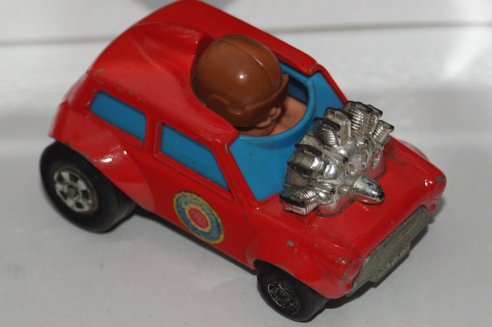 Original matchbox superfast - mini - ha - ha - nr. 14 - rot