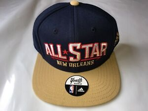 NEW-Adidas-Youth-2014-NBA-All-Star-Weekend-Hat-New-Orleans-Zion-Williams-Blue