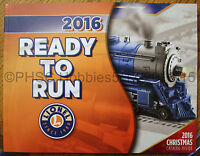 2016 Lionel Ready-to-run & Christmas Catalog