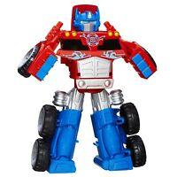 Playskool Heroes Transformers Rescue Bots Optimus Prime Rescue Trailer , New, Fr