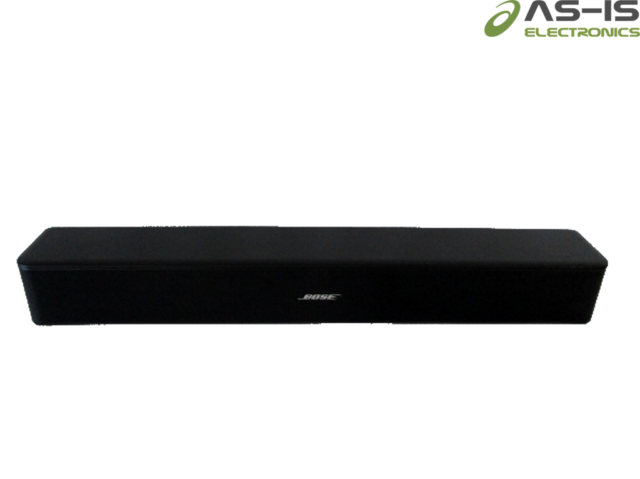 *AS-IS* Bose 418775 Solo 5 TV Sound System Sound Bar (O575)