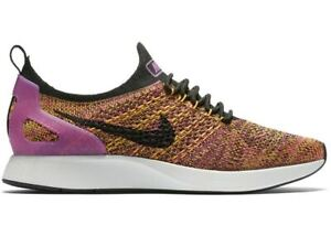 new arrivals new styles size 7 Details about Women Nike Air Zoom Mariah FK Racer Running Shoes Purple  Yellow Black AA0521 007