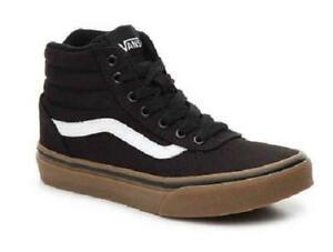 black and brown vans shoes