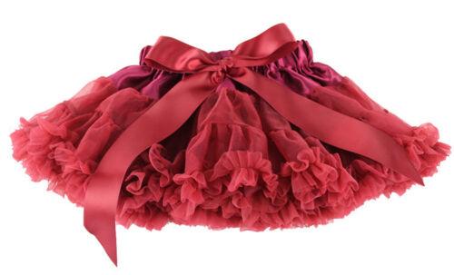 Baby Girl Kids Chiffon Fluffy Pettiskirt Tutu Dancewear Christmas Party Skirt