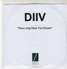 (DC96) DIIV, How Long Have You Known - DJ CD