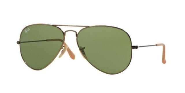 Ray Ban RB 3025 Rb3025 Aviator Large Metal Sunglasses Antique Gold 177 4e  58mm b7bce8a7bb89