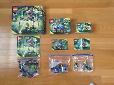 Lego Alien Conquest Lot (7049, 7050, 7051) All 100% Complete w/ Box+Instructions