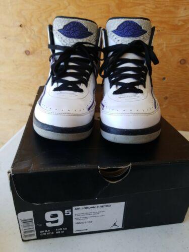 2014 Nike Air Jordan 2 Retro White Concord Black W