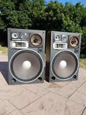 "1970's KENWOOD KL-999X 300 Watt 5 Way Stereo Speakers 16"" Woofers ~FREE SHIPPING"