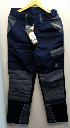 Arbeitshose Bundhose blau//grau Canvas Elysee® strapazierfähig reißfest robustNEU