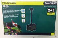Pondmaster Pond Fountain Pump 4900 Liters Per Hour 240volt Hydroponic 10m Cord