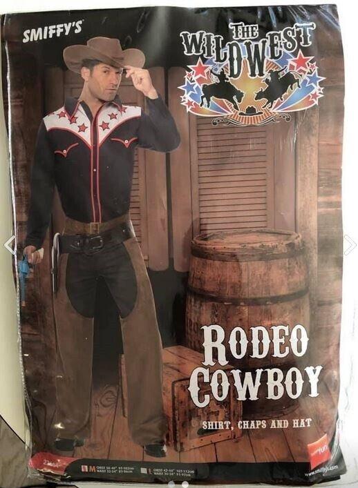 Cowboy kostume i str. M ny