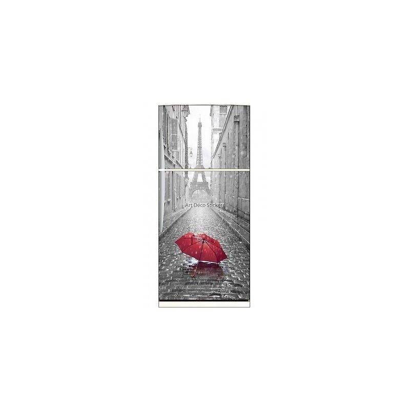 Magnet frigo Parapluie Paris réf 6226 6226- Art déco stickers