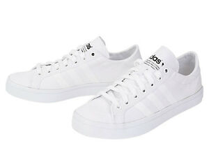 Adidas Original Court Vantage Sneakers S78767  Shoes Tennis Skate Board White