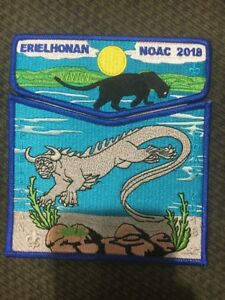 Lodge 440 Erielhonan 2018 NOAC 2-piece OA flap set Delegate Cream