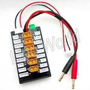 6x-XT60-2S-3S-4S-XH-parallel-Lade-Balancer-Board-Adapter-Lipo-Akku-imax-Modell