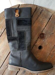 bottes cuir femme timberland