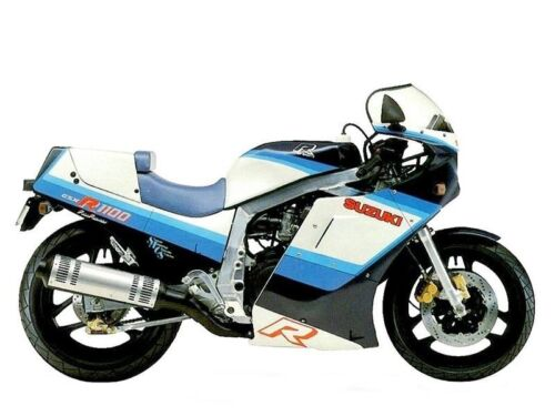 Suzuki GSXR1100 1986-1988 large headed stainless steel fairing bolts kit