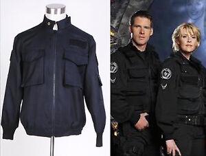 Stargate SG1 Black Uniform Jacket Costum